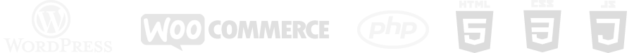 Wordpress, WooCommerce, PHP, HTML5, CSS3, JavaScript